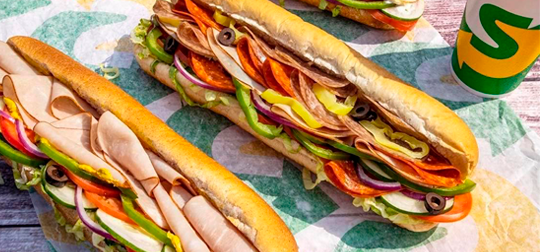 Subway - American Subs, Cookies & Salads